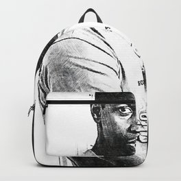 Denzel Hayes Washington Jr. - Society6 Online Movie Star - Actor - Producer - Hollywood Posing Backpack