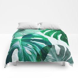 Monstera 1 Comforters