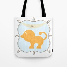 Fun at the Zoo: Lion Tote Bag