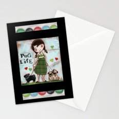Pug Life - by Diane Duda Stationery Cards
