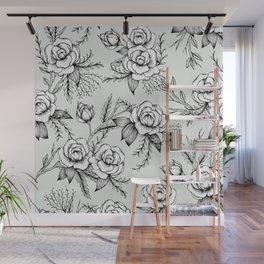 Bloom - Mint Wall Mural