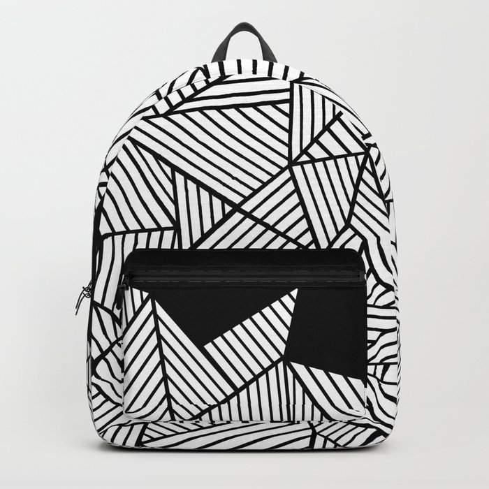 Abstraction Mountain Backpack