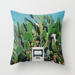Cactus IV Throw Pillow