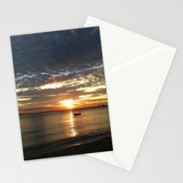 Chasing The Sunset At Koh Samui Stationery Cards