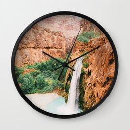 Havasu Falls / Grand Canyon, Arizona Wall Clock
