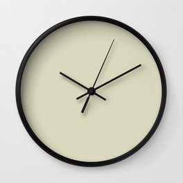 Free Spirit Sand Pantone 454 pc Solid Colour Blocks Wall Clock
