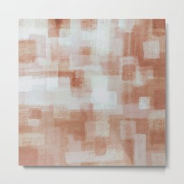 Clay Blocks Metal Print