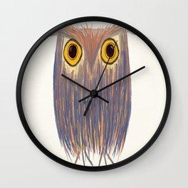 The Odd Owl Wall Clock