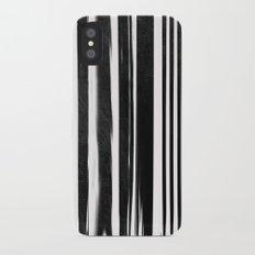 White Lines iPhone X Slim Case