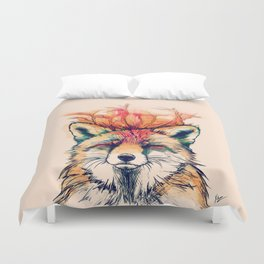 Fox Yeah! Duvet Cover
