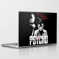 psycho Laptop & iPad Skins featuring Psycho by PsychoBudgie