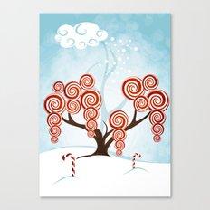 Magic Candy Tree - V3 Canvas Print
