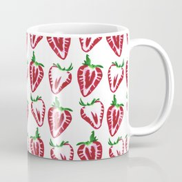 Strawberry Slices Pattern Coffee Mug