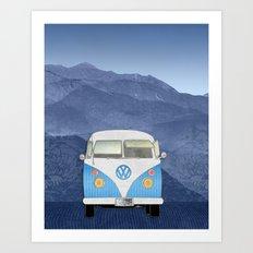 Volkswagen Bus Art Print
