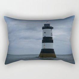 Trwyn Du Lighthouse Rectangular Pillow