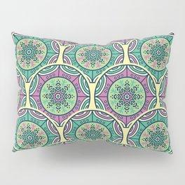 Mosaico Purple Teal Pillow Sham