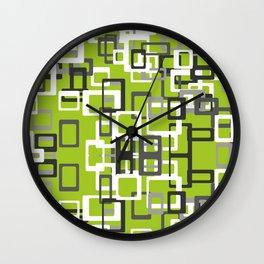 Square Pops Wall Clock