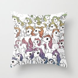 WeAreTheRainbow Throw Pillow