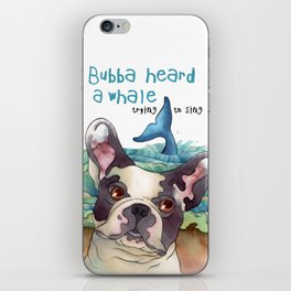 Bubba Heard a Whale iPhone Skin