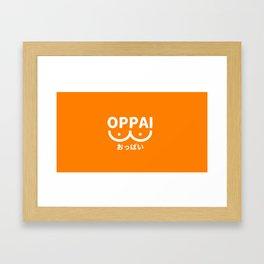 Oppai Framed Art Print