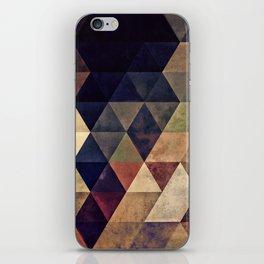 fyssyt pyllyr iPhone Skin