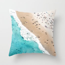 Beach Mood 2 Throw Pillow