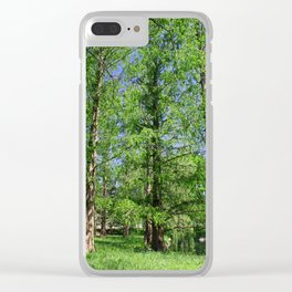 Dawn Redwood Clear iPhone Case