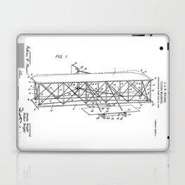 Wright Brothers Patent: Flying Machine Laptop & iPad Skin