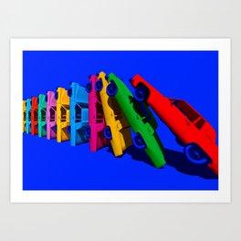 Cadillac Domino (minimal) Art Print