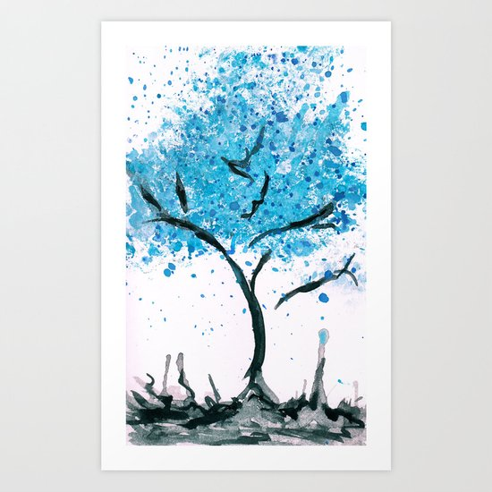 We are imperfectly beautiful, and that's ok. Art Print