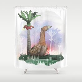 Moa Shower Curtain