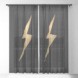 Lightening Sheer Curtain