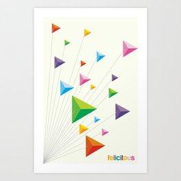 Felictous Art Print