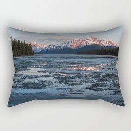 Lake Maligne Rectangular Pillow