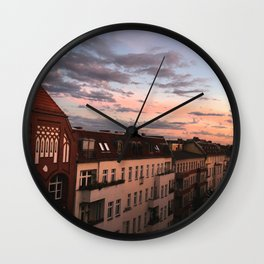 Over the roofs of Berlin Wall Clock
