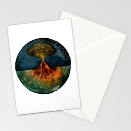 volcano Stationery Cards
