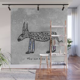 Mythical Creatures - The Two-horned Unicorn Wall Mural
