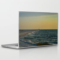 sailboat Laptop & iPad Skins featuring Sailboat by Damn_Que_Mala
