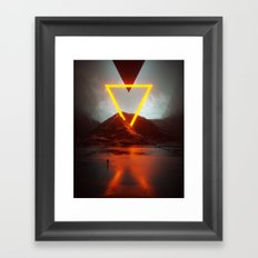 w3rk Framed Art Print