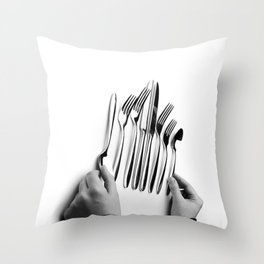 Snacktime Throw Pillow
