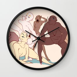Squad Wall Clock