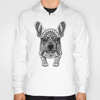 frenchie Hoodies featuring Frenchie by BIOWORKZ