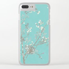 Ume blossom Clear iPhone Case