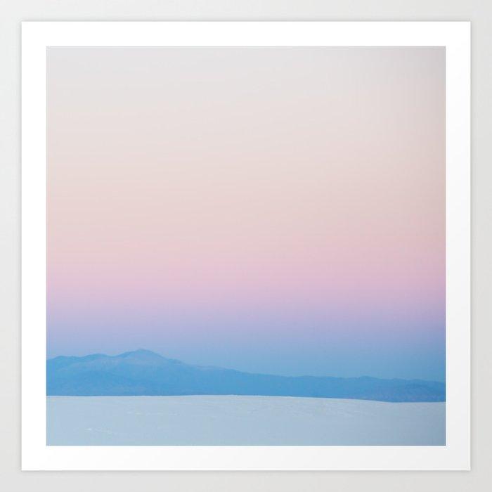 Desert Sunrise Vibes Kunstdrucke