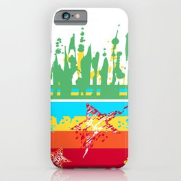 Grafic Surf n Skate n Hip n Dance iPhone Case