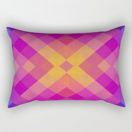 Colorful and geometric bands II Rectangular Pillow