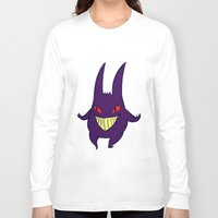 gengar Long Sleeve T-shirts featuring gengar by Spacey Brains
