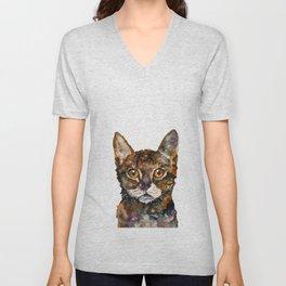CAT#8 Unisex V-Neck