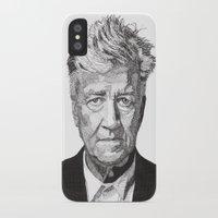 david fleck iPhone & iPod Cases featuring David by Rik Reimert