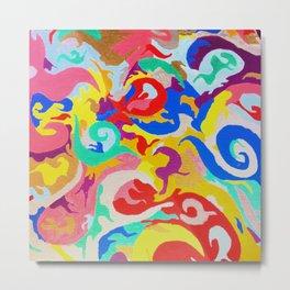 Filtered Swirl 1 Metal Print